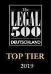 cms legal500 deutschland top tier 2019